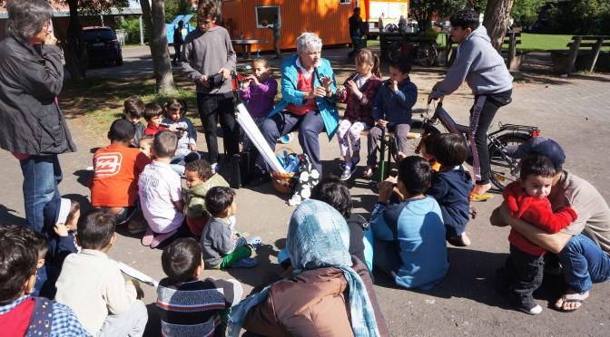 Regelmäßige Treffen mit Angeboten für die in Rosdorf untergebrachten Flüchtlinge