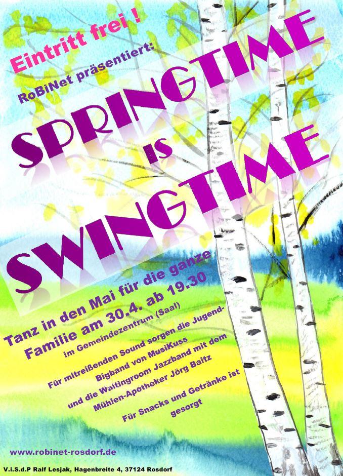Plakat Tanz in den Mai 2017