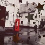 Weihnachtliche Telefonzelle