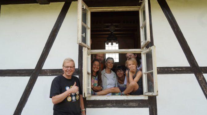 Vorbereitung Saalworkshop: Erstes Fenster nach 50 Jahren geöffnet